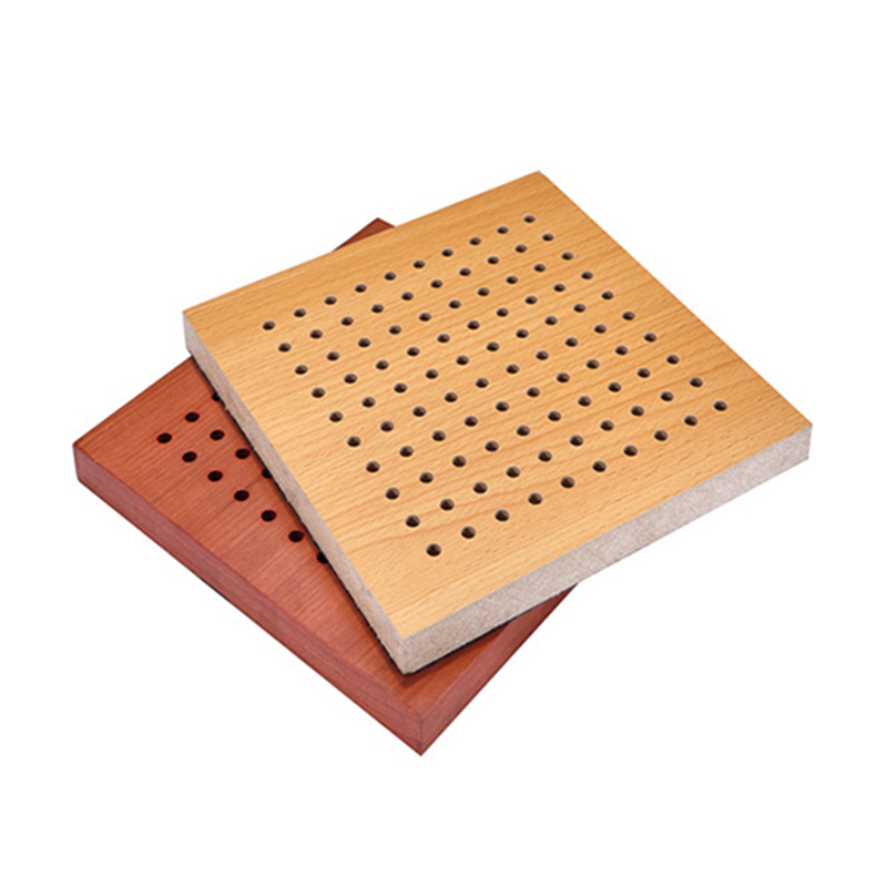 MDF Perforated Wood Acoustic Panel acoustic perforated panel