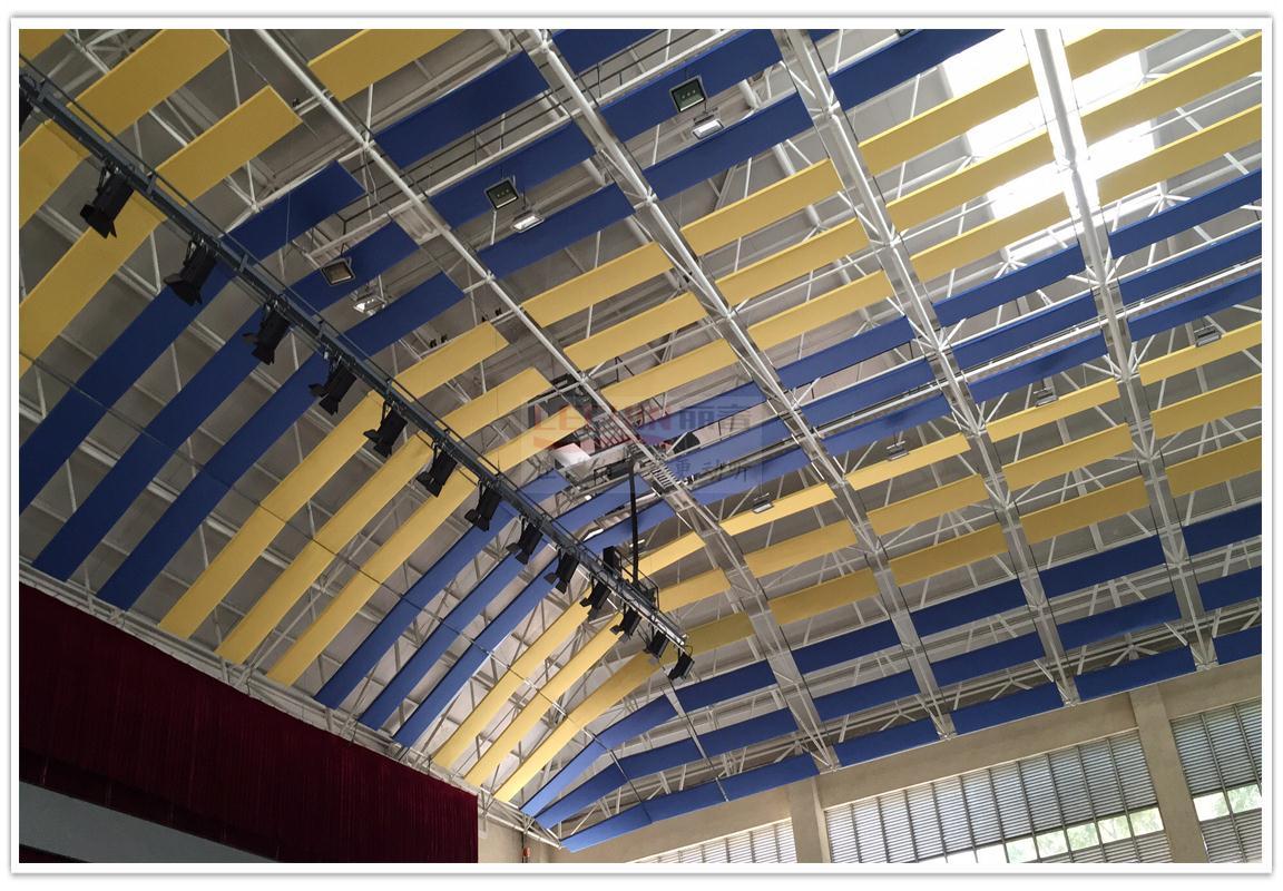 Stadium acoustics and noise treatment