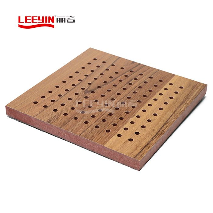 MDF Perforated Wood Acoustic Panel