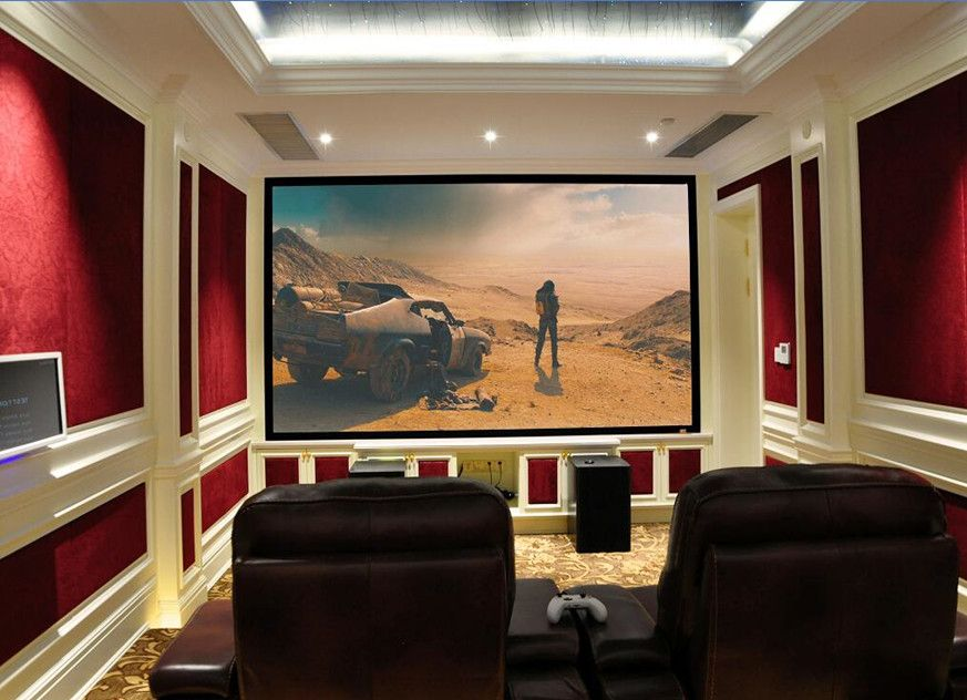 Home Theater Room Acoustic Project