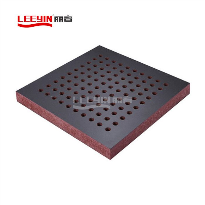 16-6-6 Wooden Veneer Perforated Acoustic Panel