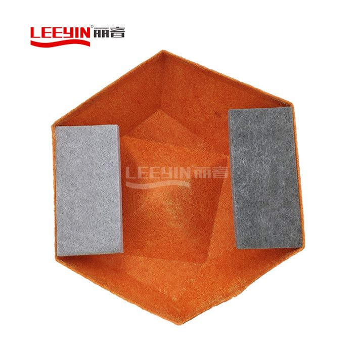 Cutomized 3D Polyester Fiber Acoustic Panel