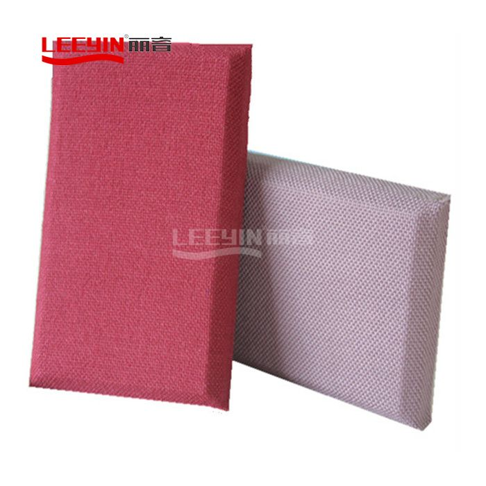 Cloth Glasswool Covered Acoustic Wall Panel