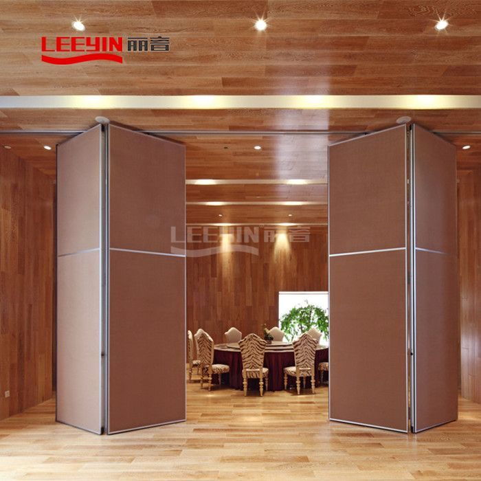 Wooden Acoustically Rated Operable Partition