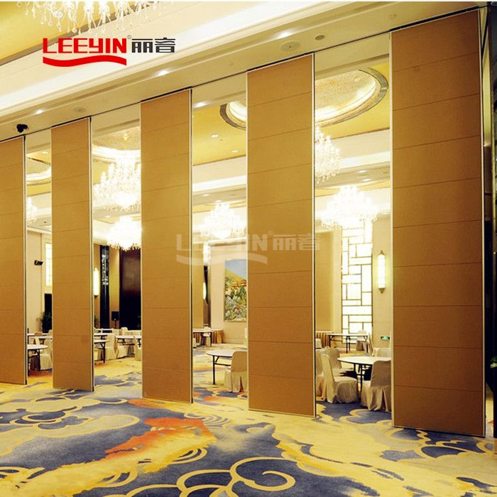Ultra-High Type Collapsible Sliding Partition Wall