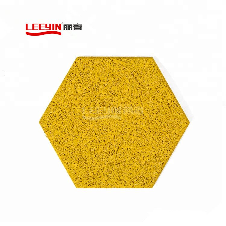 Hexagon Wood Wool Acoustic Cement Board