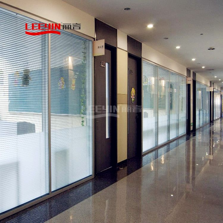Aluminum Soundproof Glass Partition for Office