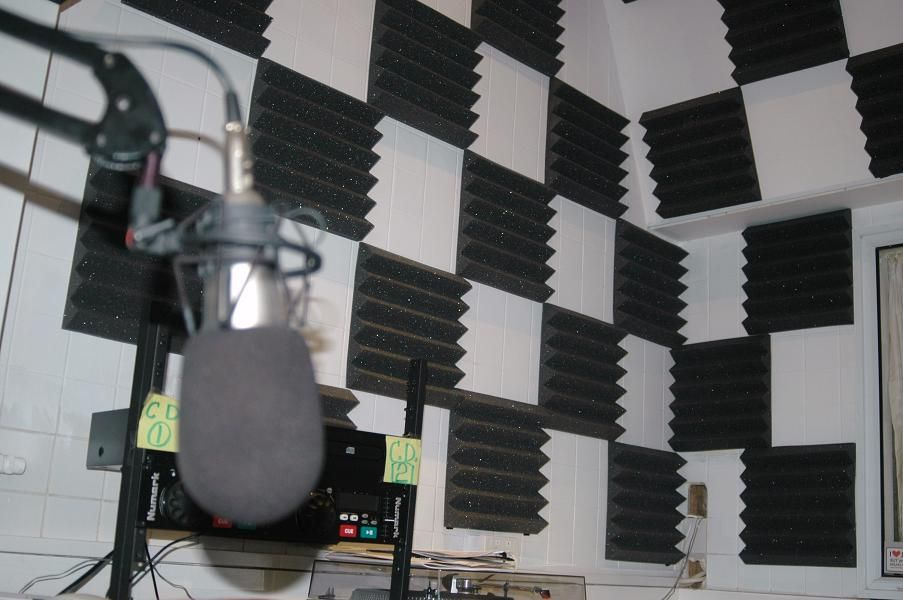 Acoustic Sponge Studio Foam Soundproof Acoustic Foam Panel