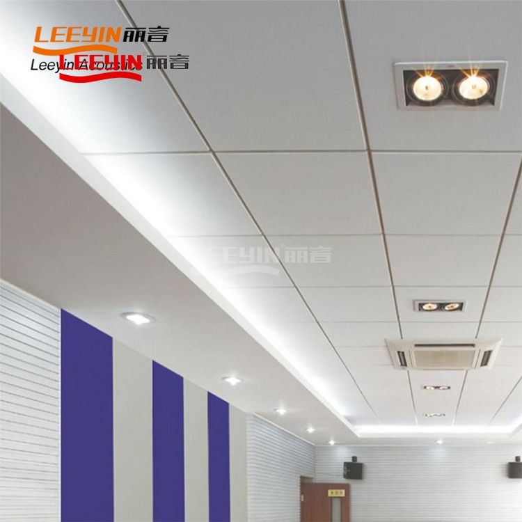 Class A acoustic ceiling insulation Fiberglass acoustic panel drop ceiling tiles fiberglass acoustic panel