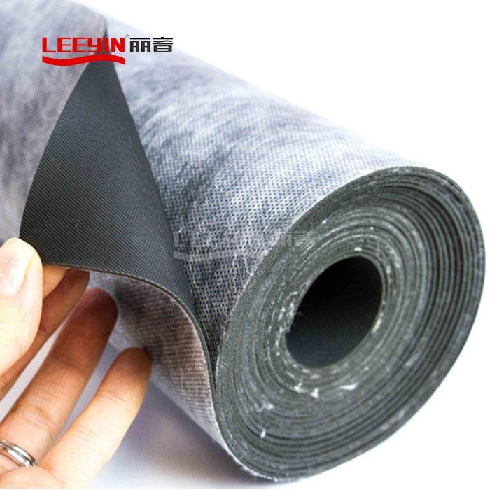Acoustic Resilient Mat Underlay Vinyl Sound barrier sheet Mass Loaded vinyl