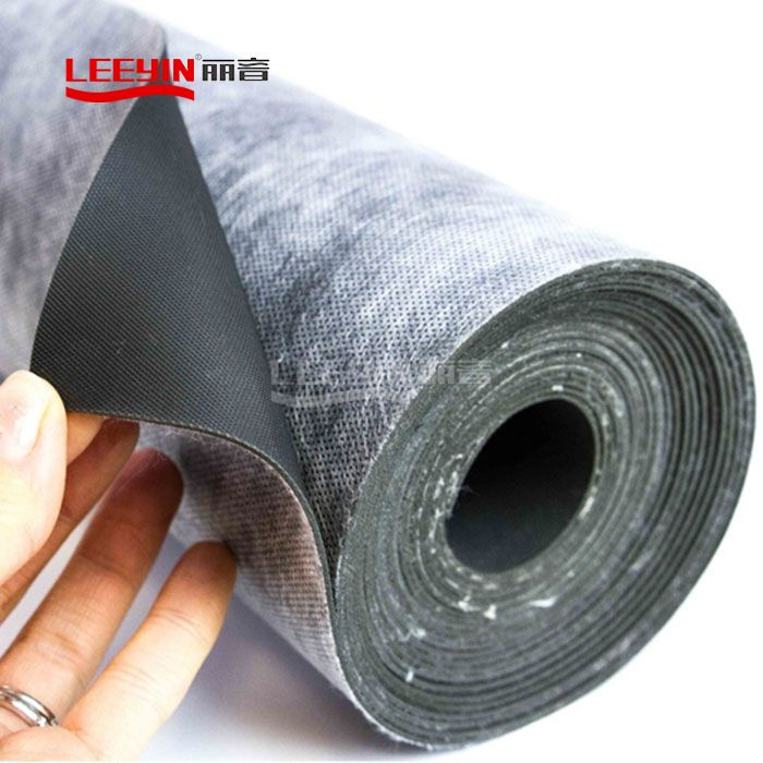 Acoustic Resilient Mat Underlay Vinyl Sound barrier sheet Mass Loaded vinyl