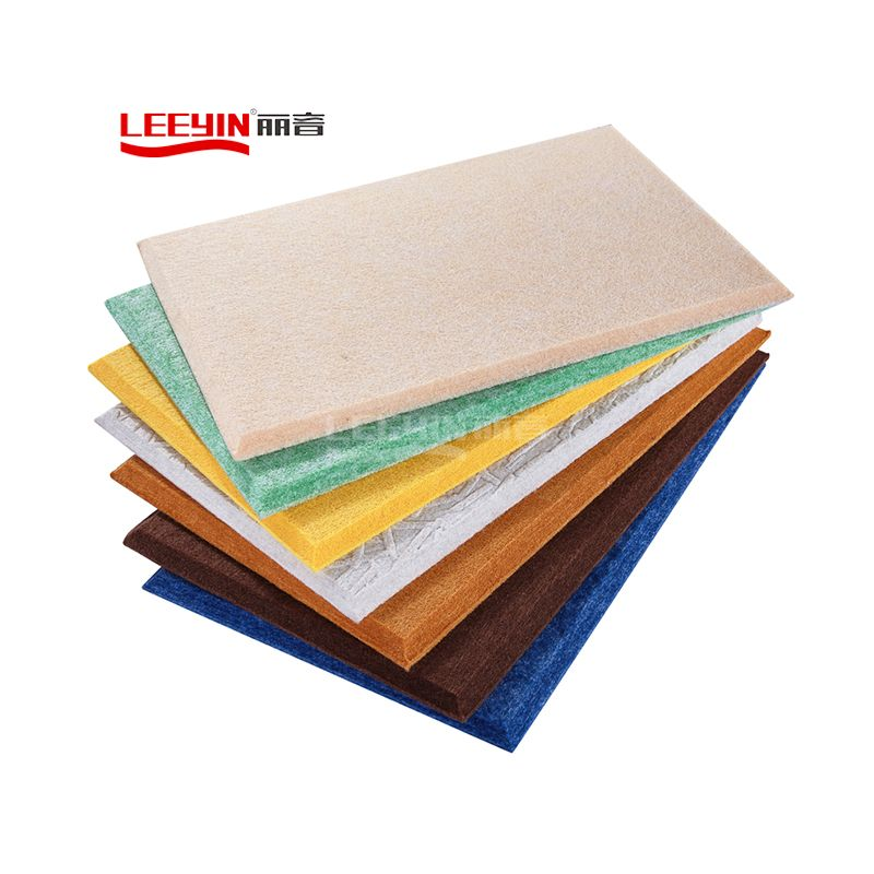 100 pet felt polyester acoustic panels polyester fiber acoustic panel