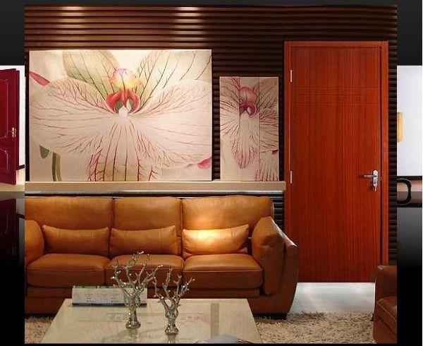 Commercial Wooden Acoustic Door Soundproof Door