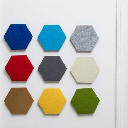 Hexagon acoustic panel polyester acoustic panels