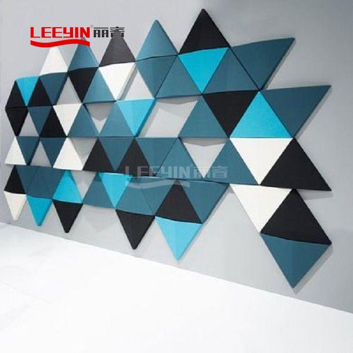 DIY decorative acoustic panels polyester fiber acoustic panel