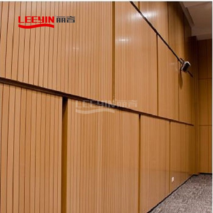 Sound Absorbing Gypsum Board Acoustic Wood Wall