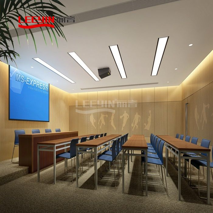 Acoustic Wood Wall Perforated Wood Ceiling Panels