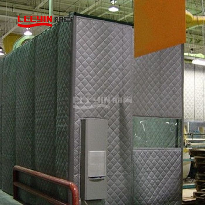 Exterior Sound Absorbing Blankets Acoustic Fencing