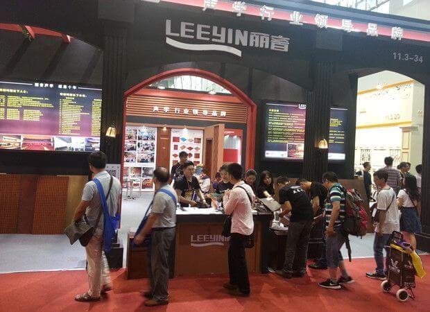 Leeyin Team at Exhibition