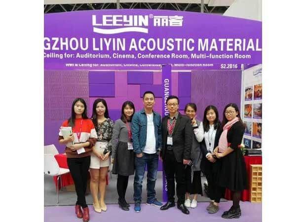 Leeyin Team at Canton Fair