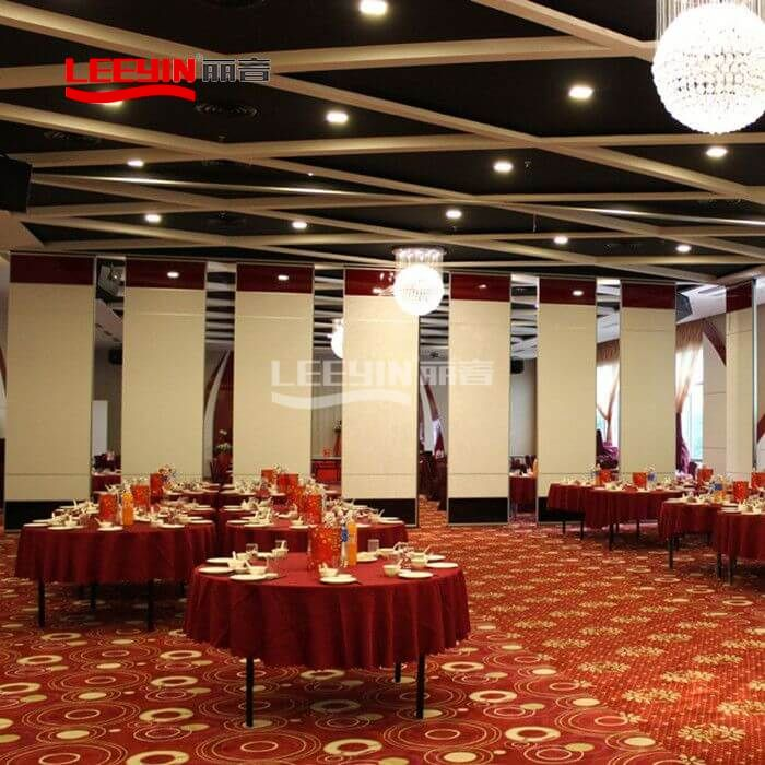 Acoustic Sliding Folding Partition Door