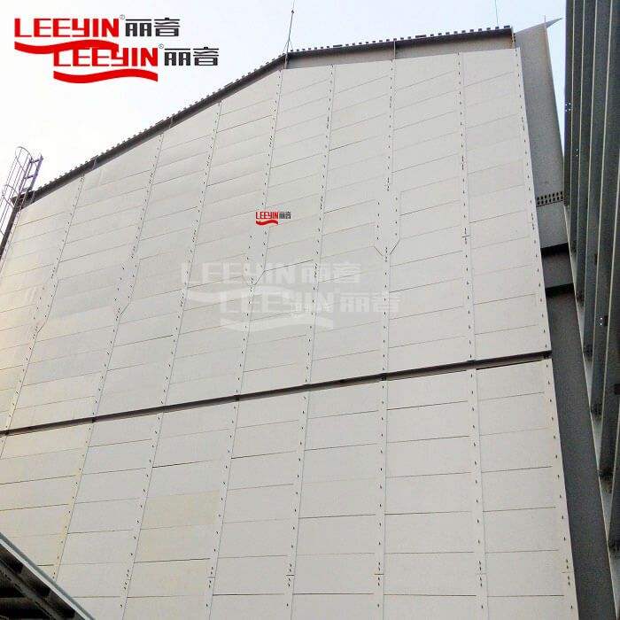 Outdoor sound insulation panels soundproofing boards