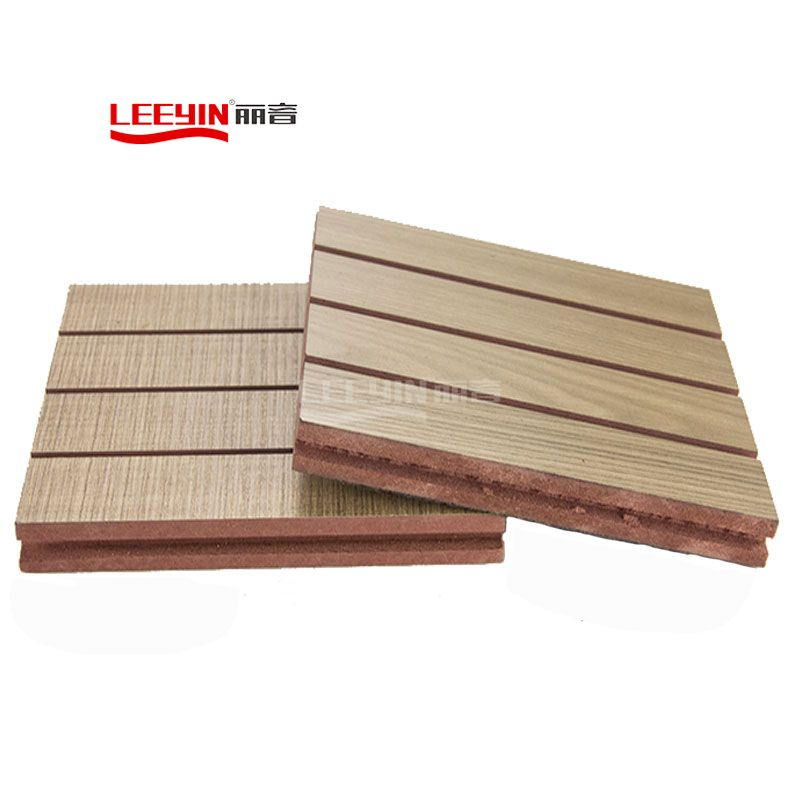 28-4 grooved acoustic board ceiling acoustic tiles