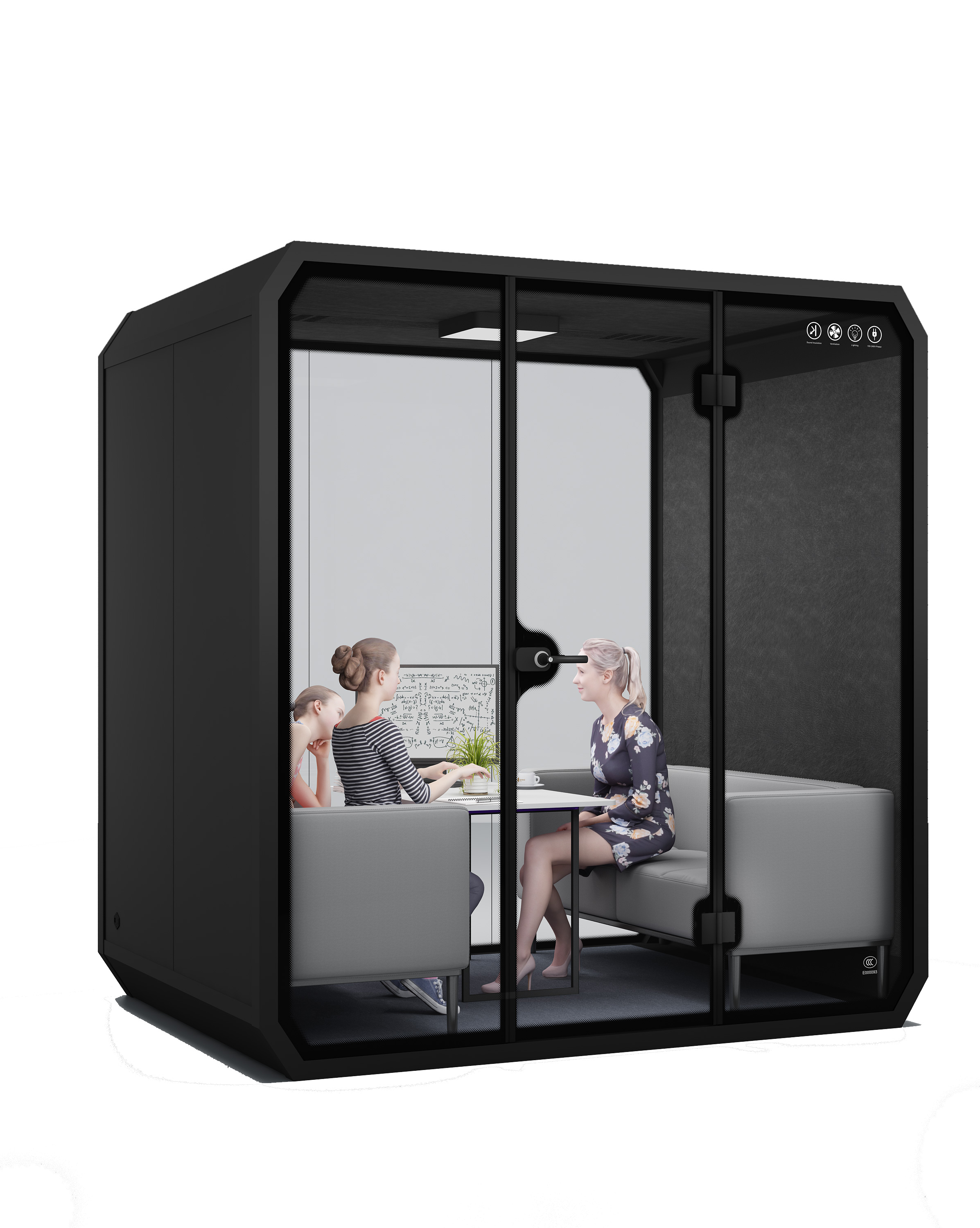 Easy Assemble portable soundproof recording booth for Sale