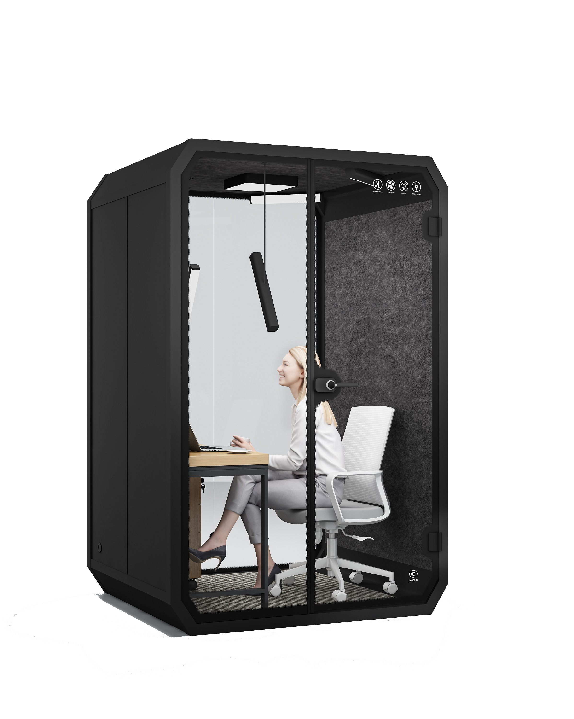 Private Soundproof Pod Booth For Office