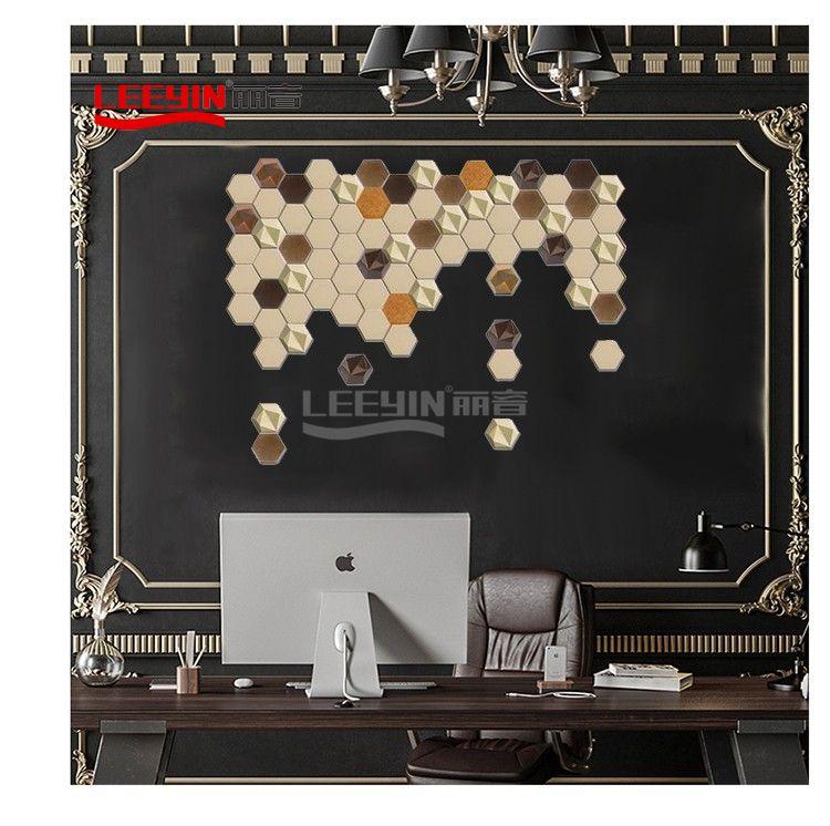 3D Decorative PET Polyester Soundproof Panel