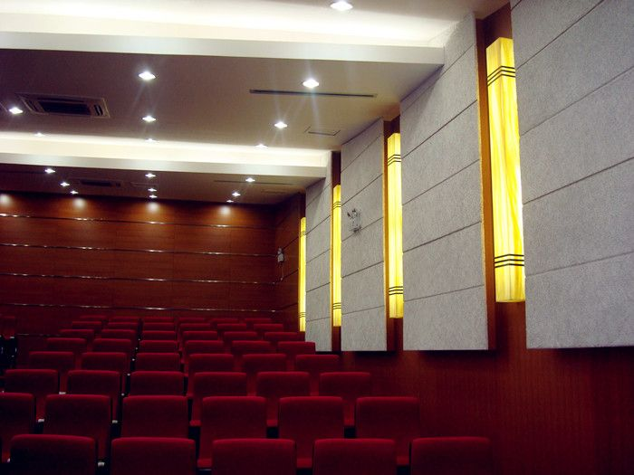 Acoustic Wood Wool Sound Absorbing Wall and Ceiling Panels