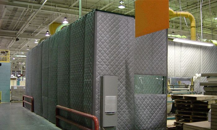 Industrial Soundproof Acoustic Enclosure