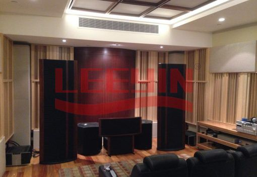 Automatic Multi-functional Acoustic System baffle movable sound diffuser