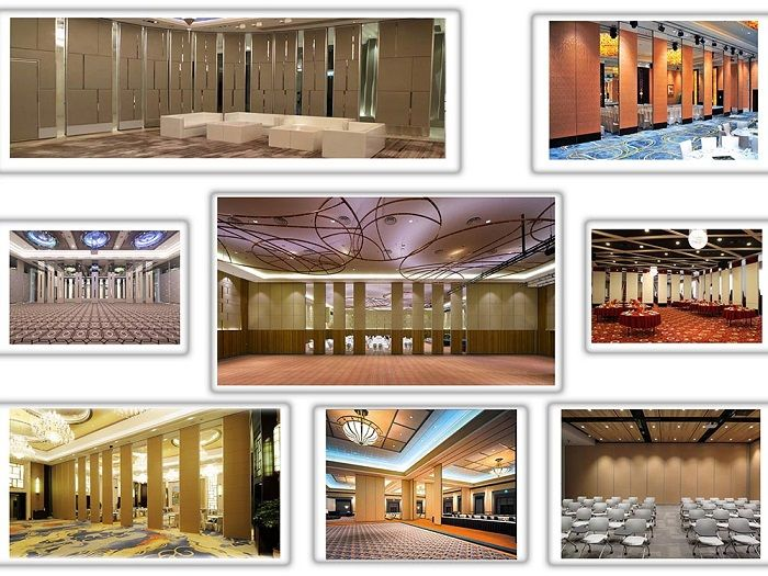 Wooden Operable Acoustic Movable Partition