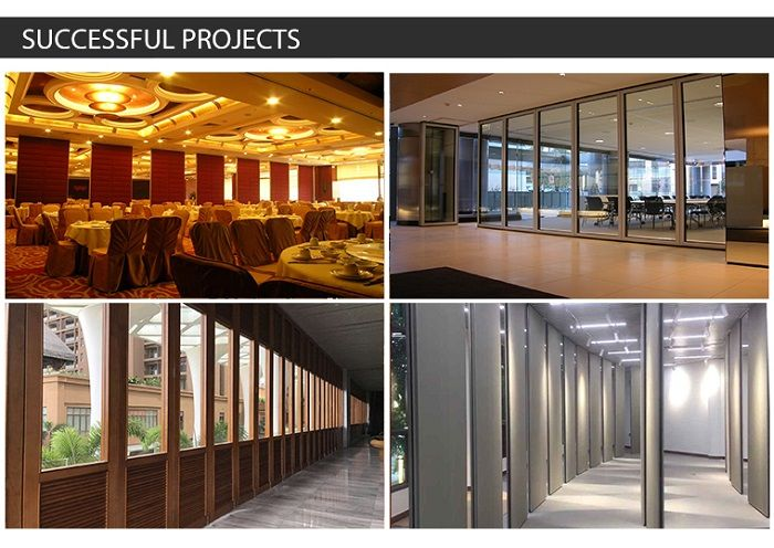 Aluminium Frame Glass Partition for Offices