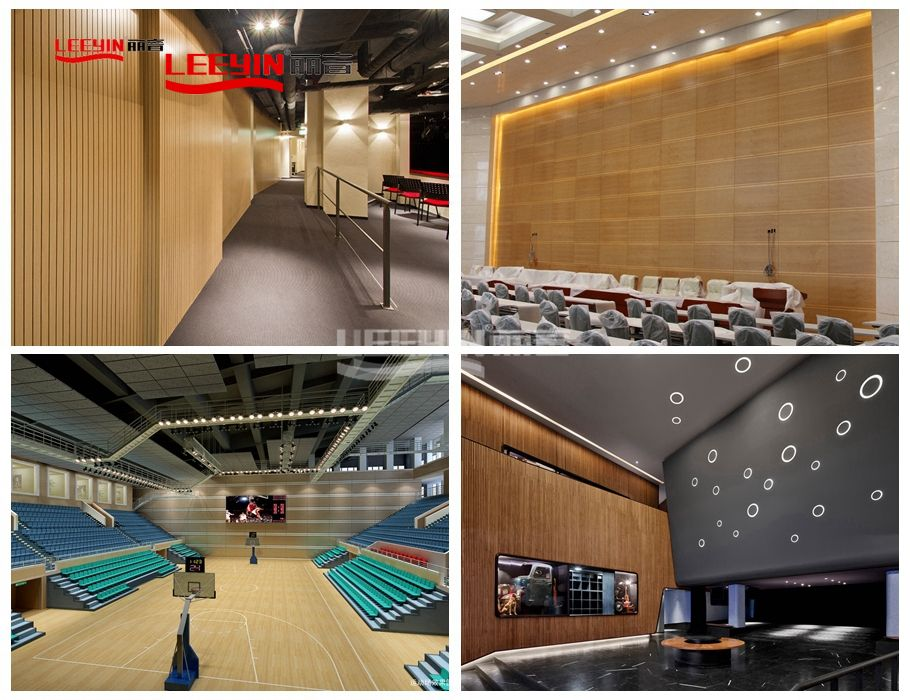 14-2mm Sound Absorption Grooved Wooden Acoustic Panel